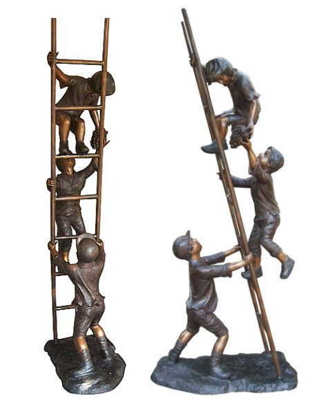 Bronze Children Statues - DD G-060