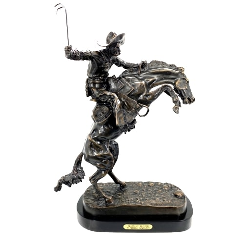Bronze Remington Bronco Buster Statue (Prices Here) - ASB 001