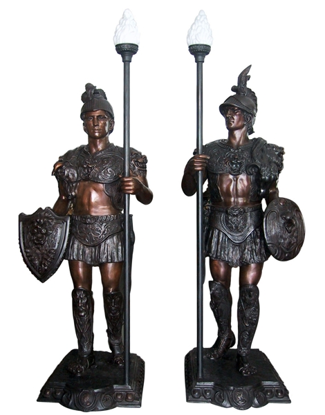 Bronze Warrior Statue - DD L-027