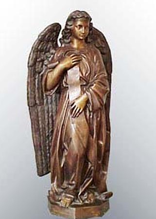 Bronze Angel Statue - PA S-1028