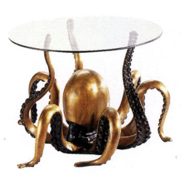 Bronze Octopus Table - DD T-014