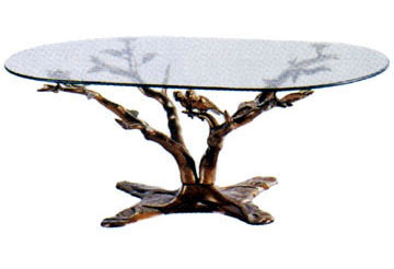 Bronze Tree Themed Table - DD T-024