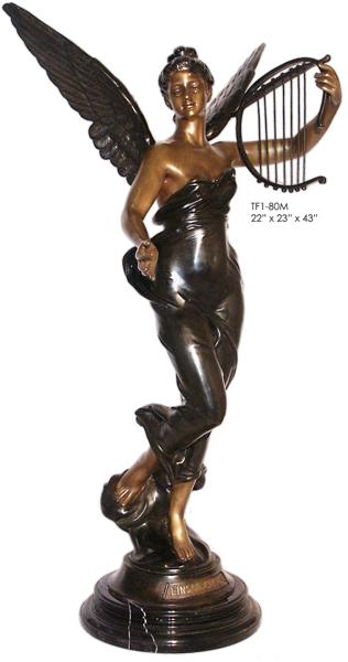 Bronze Angel Statue - ASI TF1-80M
