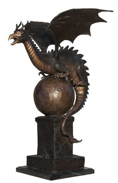 Bronze Dragon Fountains - AF 56592M-F