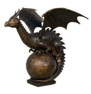 Bronze Dragon Fountains