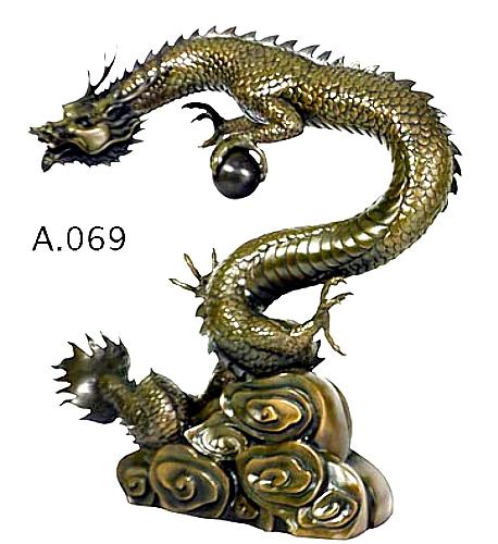 Bronze Dragon Fountains - DD A-069-F