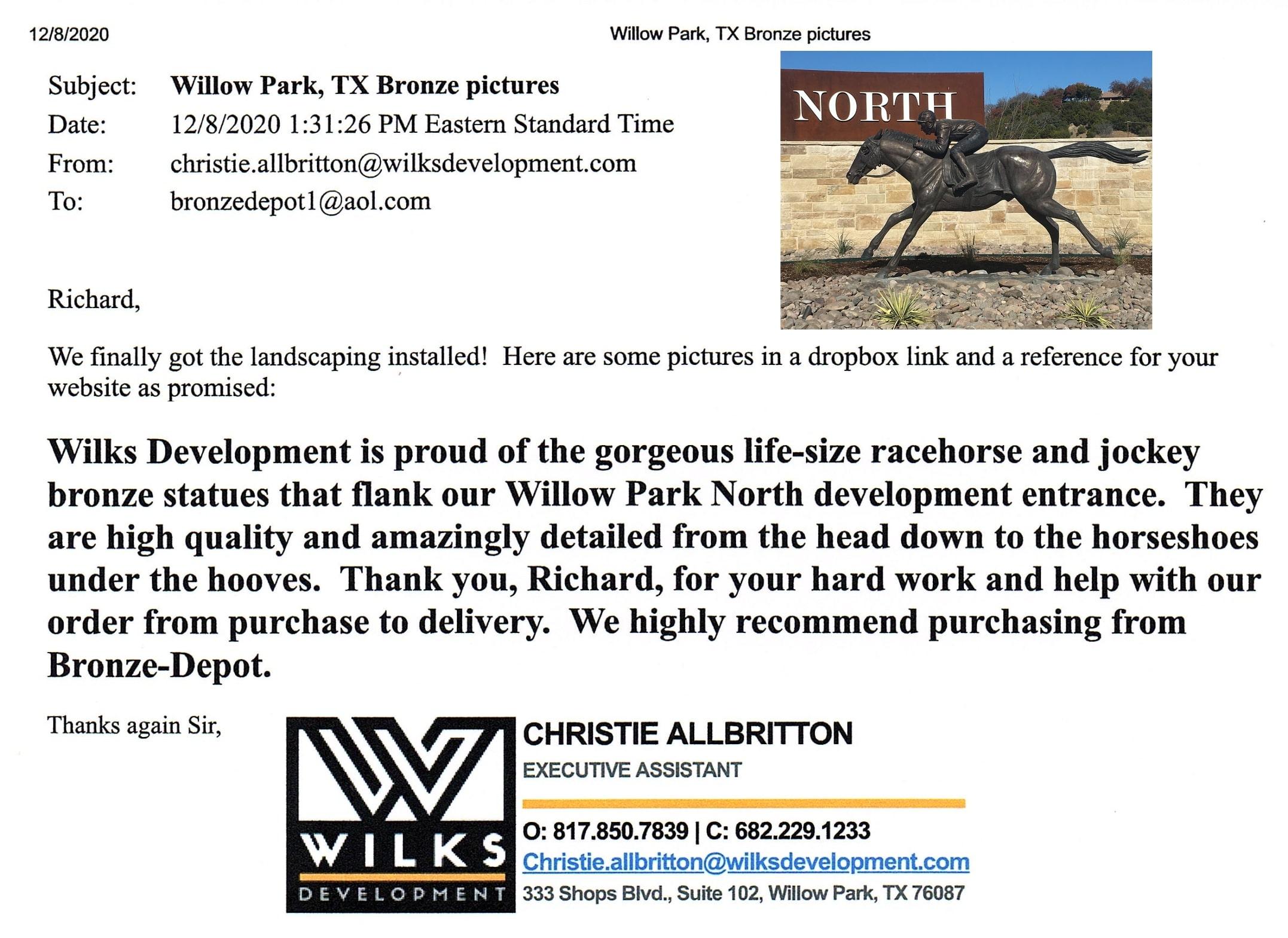 Wilks Development