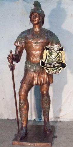 "Bronze Soldier ""Your Custom Shield"" - AF 52753C"