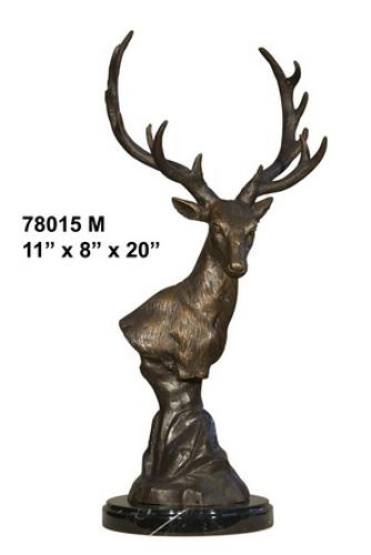 Bronze Deer Buck Statues - AF 78015