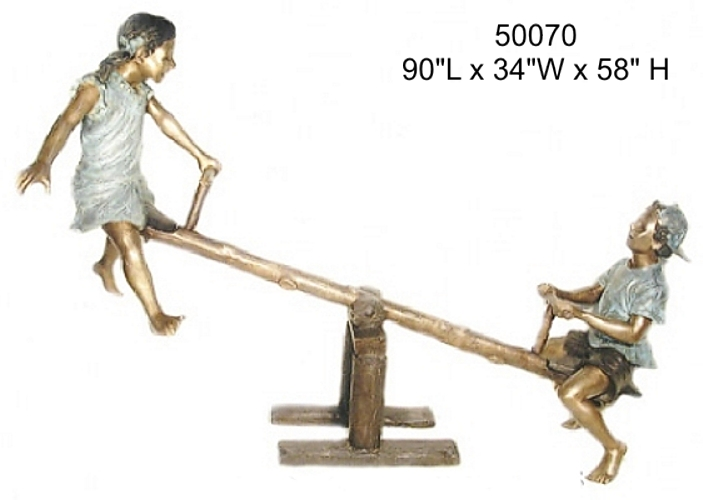 Bronze Children Statues - AF 50070