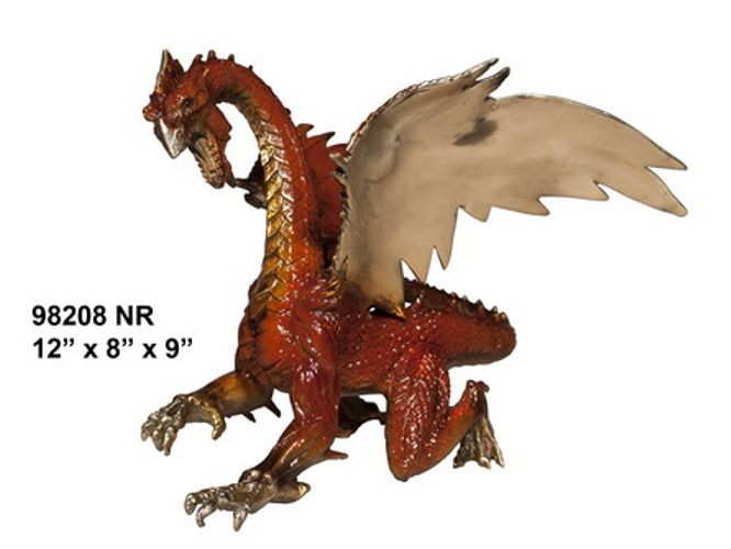 Bronze Dragon Sculptures - AF 98208 NR