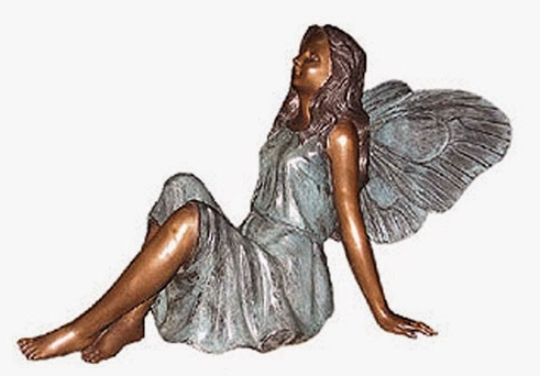 Bronze Fairy Statue