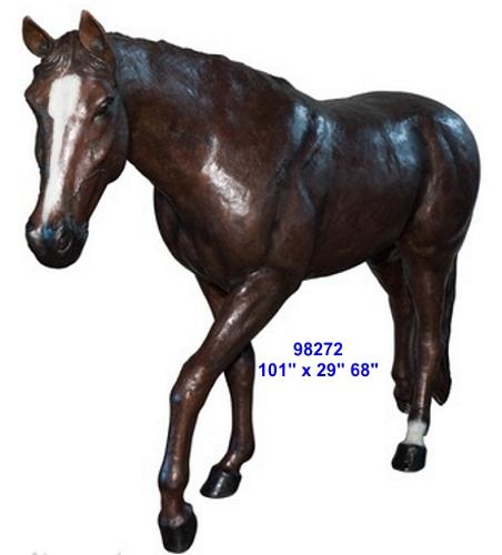 Bronze Horse Statues - AF 98272