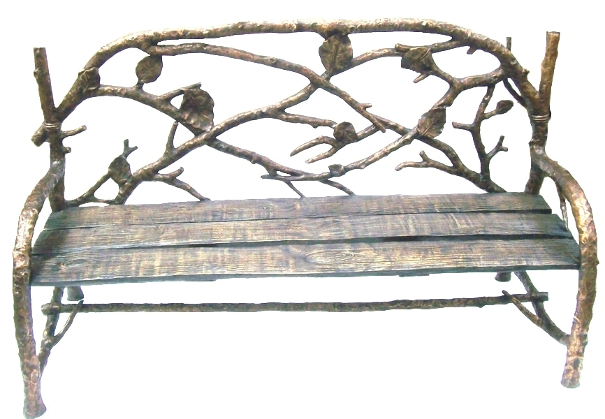 Bronze Leaf Benches - DD B-147