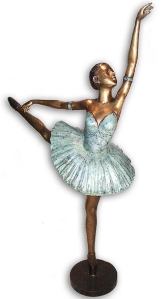 Bronze Ballerina Statue - AF 28940