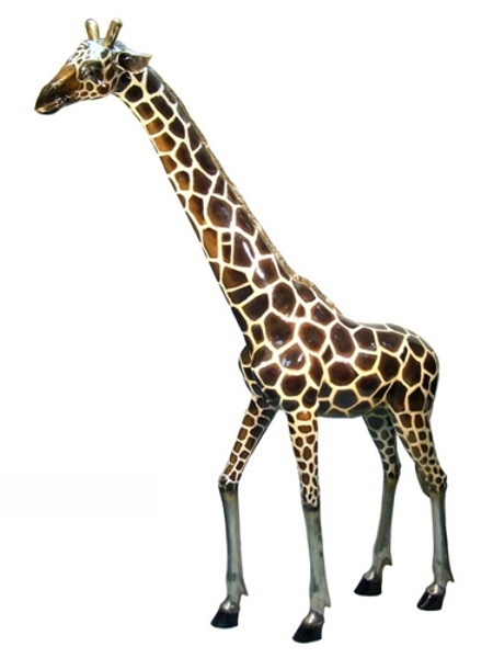 Bronze Giraffe Statues - AF 50480