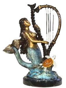 Bronze Mermaid Statues Fountains