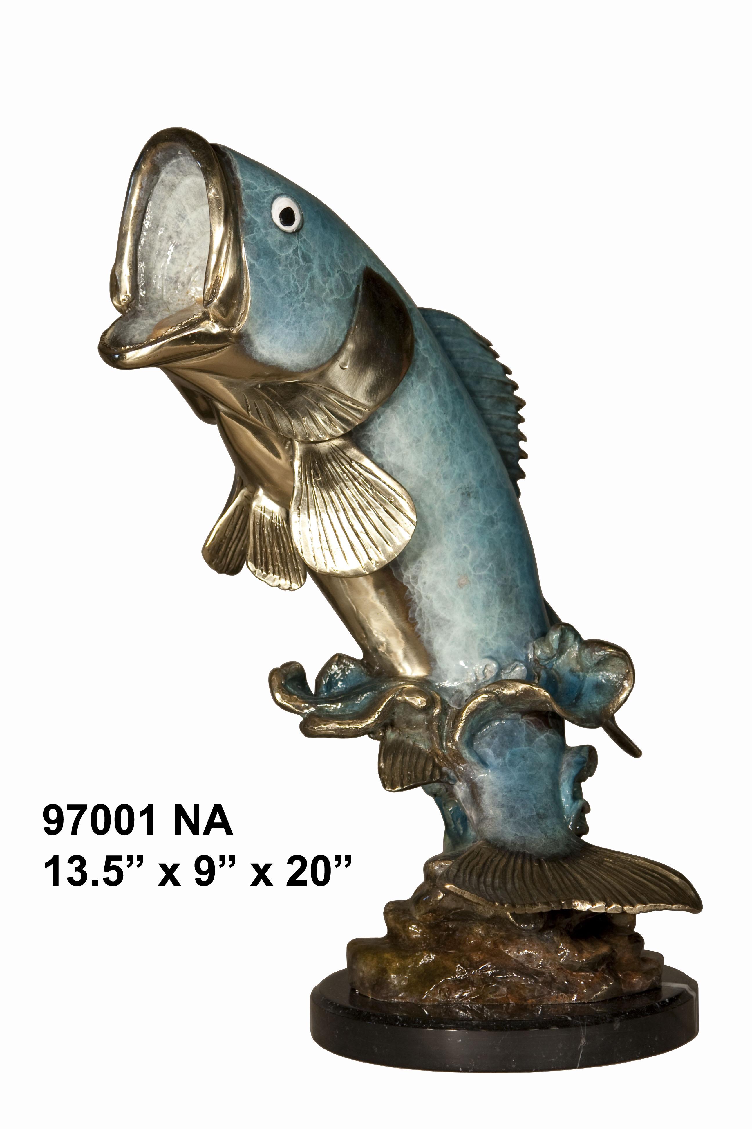 Bronze Large Mouth Bass - AF 97001NA