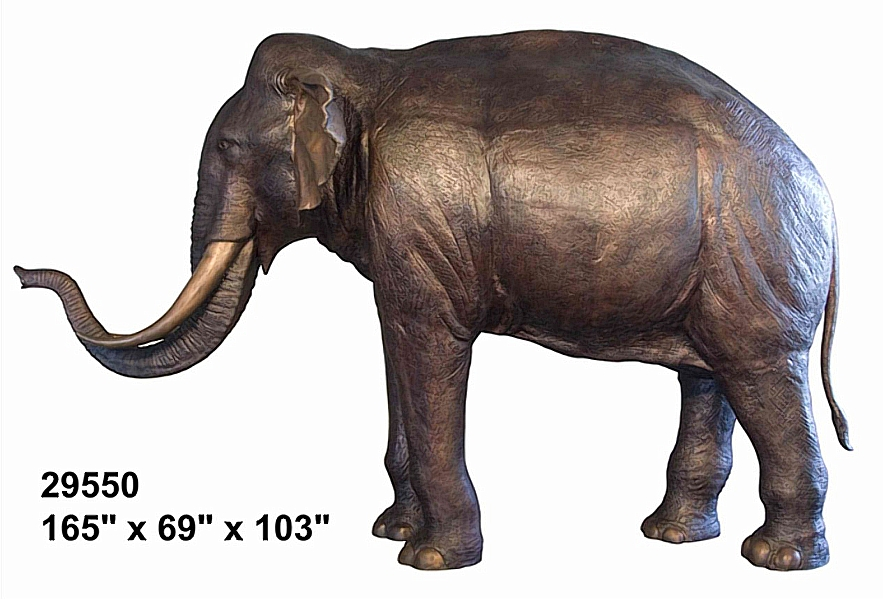 Bronze Elephant Statues - AF 29550