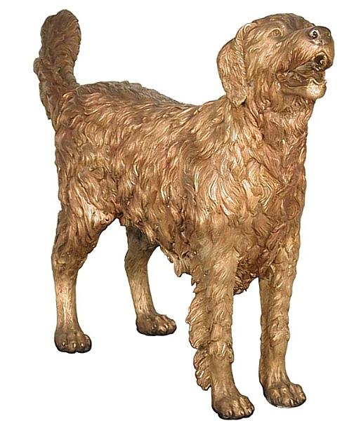 Bronze Dog Statues - AF 50312