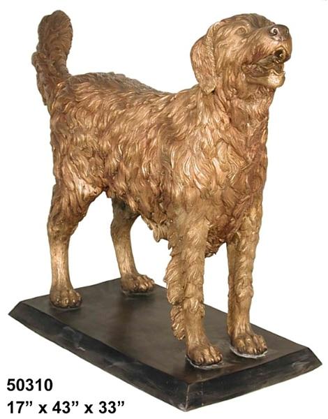 Bronze Dog Statues - AF 50310