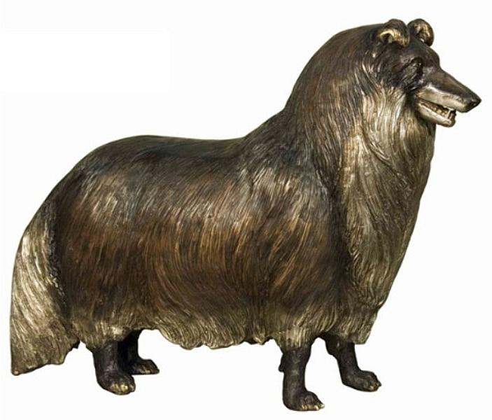 Bronze Dog Statues - AF 50412