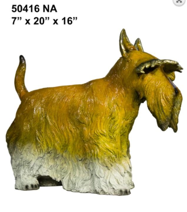 Bronze Scottish Terrier Statue - AF 50416NA