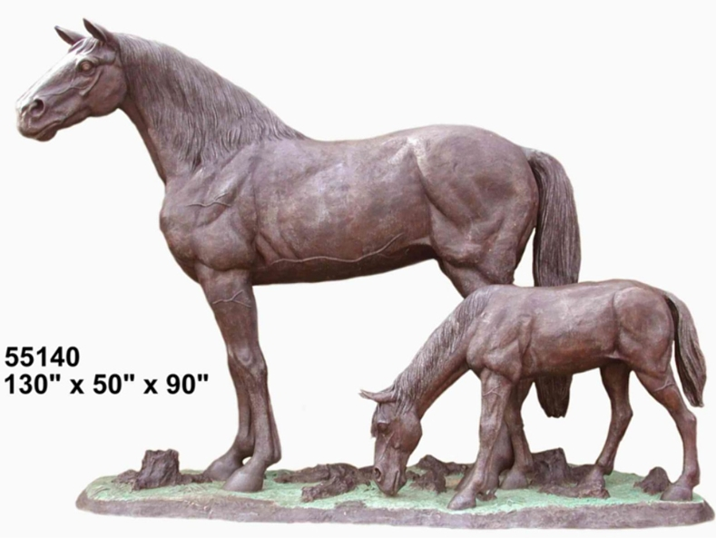 Bronze Horse Statues - AF 55140