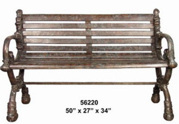 Bronze Park Benches