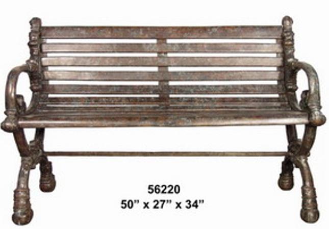 Bronze Park Benches - AF 56220