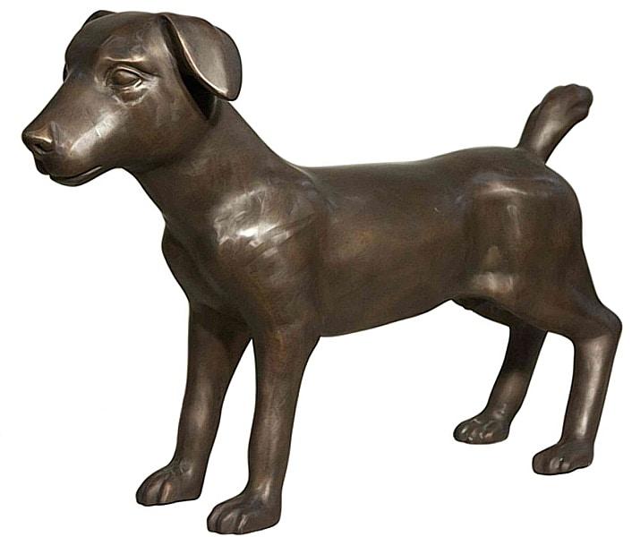 Bronze Dog Statues - AF 56632