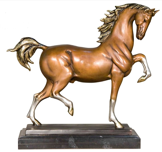 Bronze Horse Statues - AF 57722 MTS