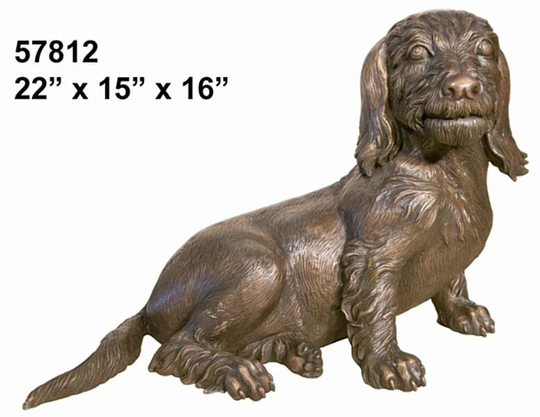 Bronze Dog Statues - AF 57812