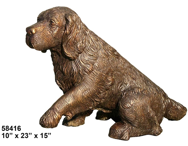 Bronze Dog Statues - AF 58416