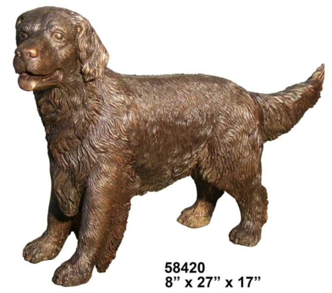 Bronze Dog Statues - AF 58420