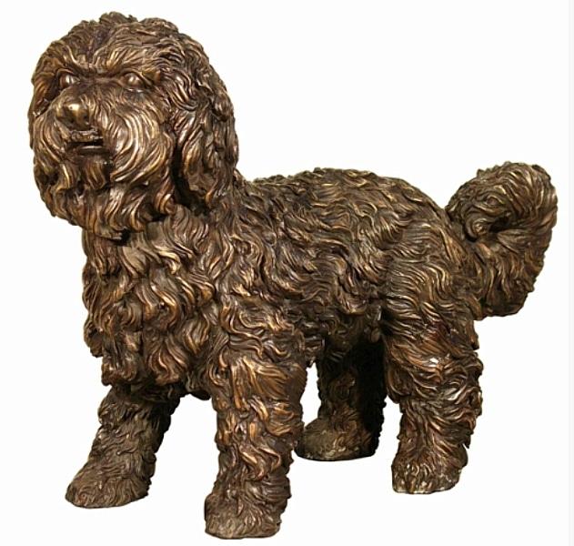 Bronze Dog Statues - AF 58454