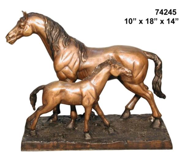 Bronze Horse Statues - AF 74245