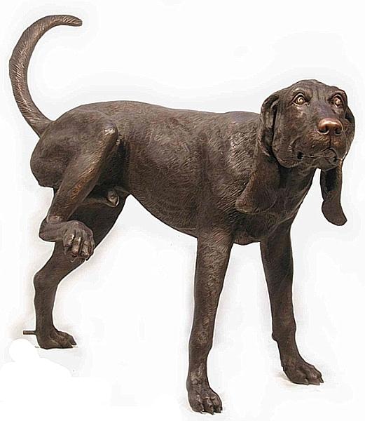 Bronze Dog Statues - AF 75001