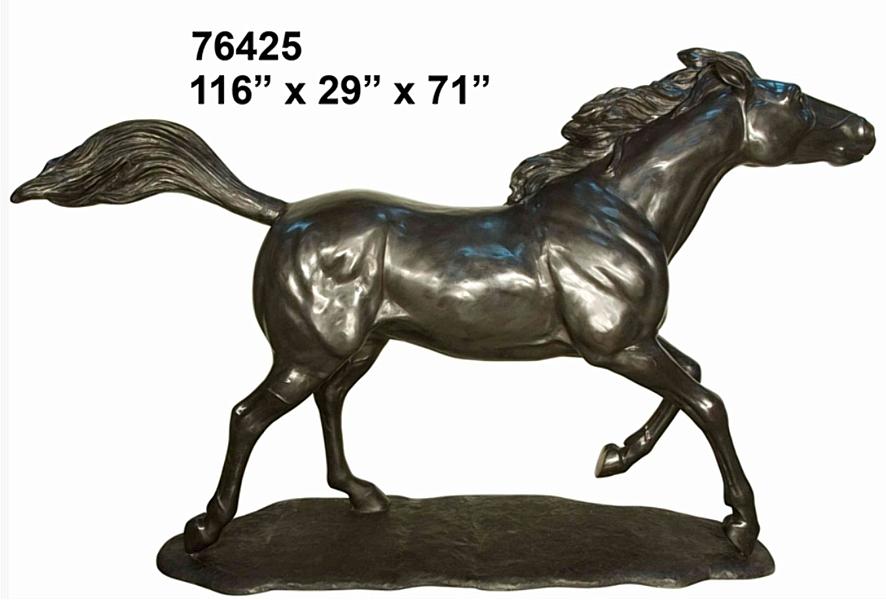 Bronze Horse Statues - AF 76425 BL