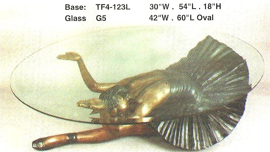 Bronze Ballerina Table Base - ASI TF4-123L