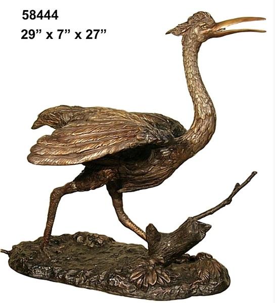 Bronze Egrets Fountains - AF 58444-F