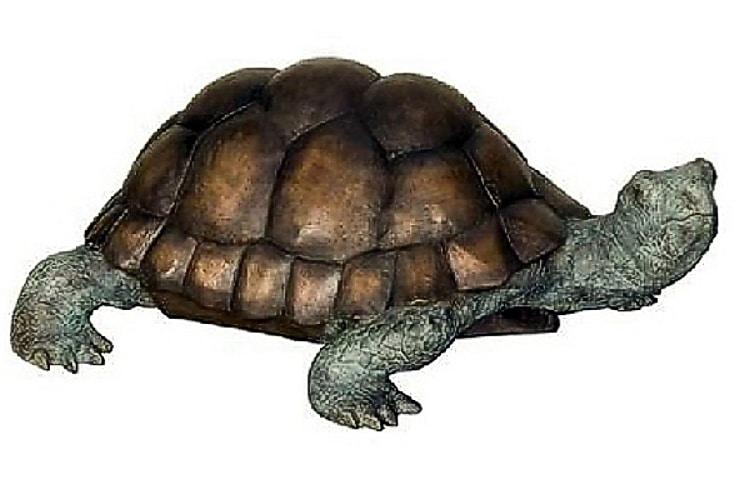 Bronze Turtle Statue - AF 58478BG-S