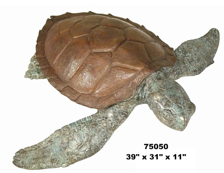 Bronze Turtle Fountains - AF 75050-F