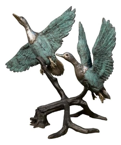Bronze Flying Duck Fountain - AF 50547BG-F