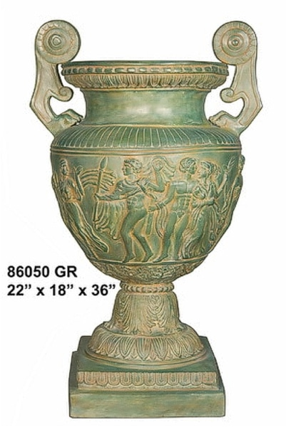 Bronze Urn - AF 86050 GR