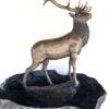 Bronze Elk Fountain