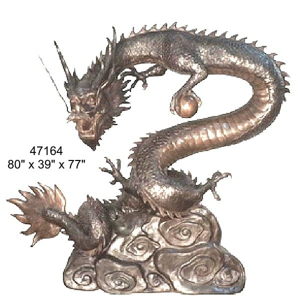 Bronze Dragon Fountains - AF 47164 TT-F