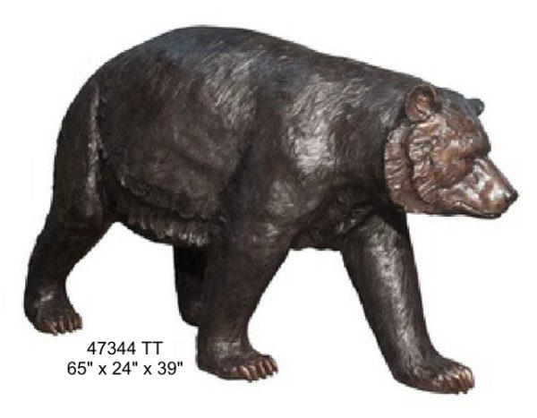 Bronze Bear Statues
