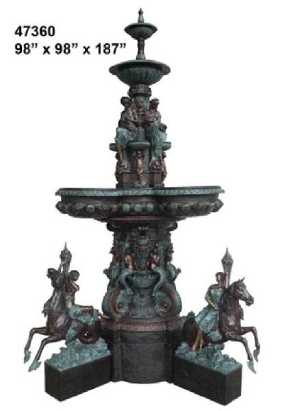 Bronze Large Bowl Fountains - AF 47360