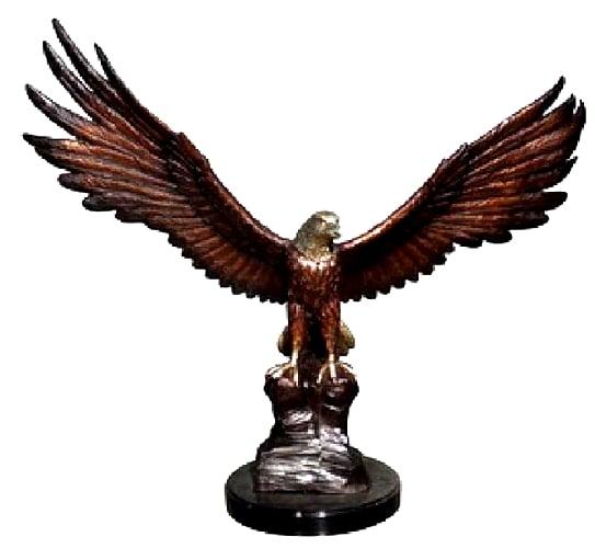Bronze Eagle Mascot Statues - AF 88242 TS